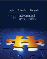 Accounting_Advanced Accounting_Advanced Accounting 11e_Hoyle_Text Cover Big