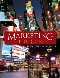 Marketing_Marketing Principles_Marketing Core 5e_Kerin_Cover