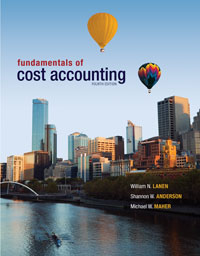 Accounting_Cost Accounting_Fundamentals of Cost Accouting 4e_Text Cover