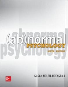 teaching abnormal psychology case studies A case-study assignment to teach theoretical perspectives in novels as case-study materials for psychology to teach theoretical perspectives in abnormal.